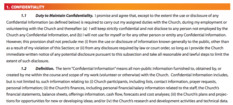 Elevation Confidentiality Agreement